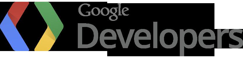 Domovská stránka služby Google Developers